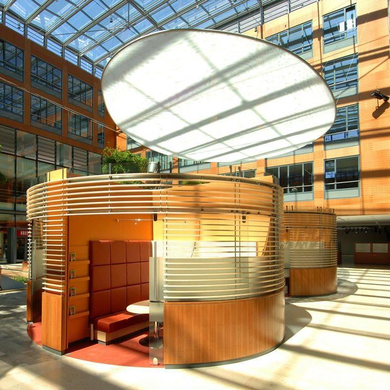 Stadtsparkasse hagen schalterhalle in hagen for Innenarchitektur nrw