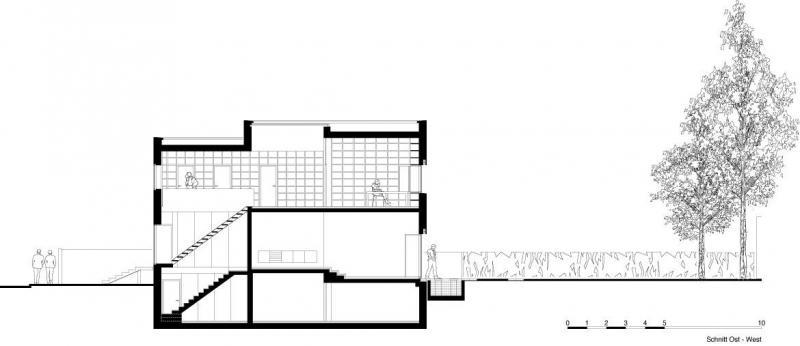 Oberlicht schnitt - Architektur schnitt ...