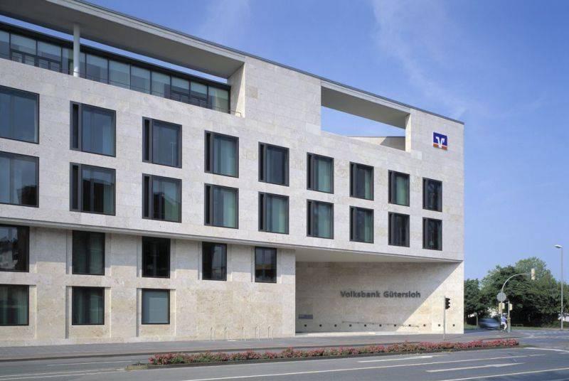 volksbank zentrale g tersloh in g tersloh architektur. Black Bedroom Furniture Sets. Home Design Ideas