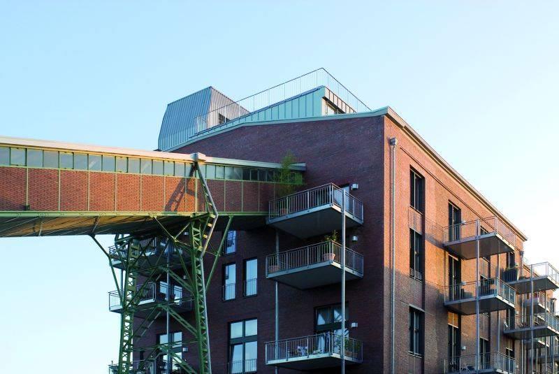 grube carl wohnen im ehemaligen trocken und pressenhaus in frechen ingenieurbau architektur. Black Bedroom Furniture Sets. Home Design Ideas