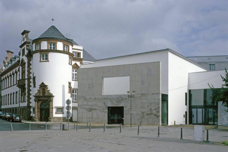 Museum f r gegenwartskunst siegen in siegen architektur baukunst nrw - Architektur siegen ...