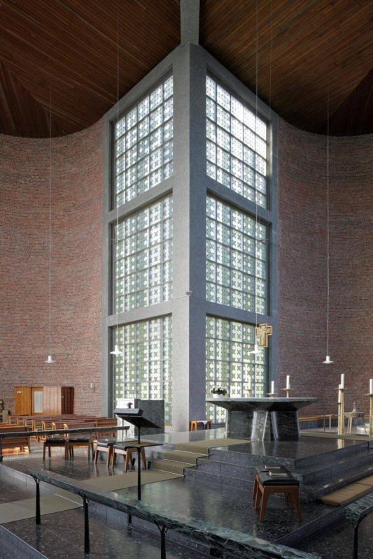 kirche st. andreas essen in essen, innenarchitektur, architektur, Innenarchitektur ideen