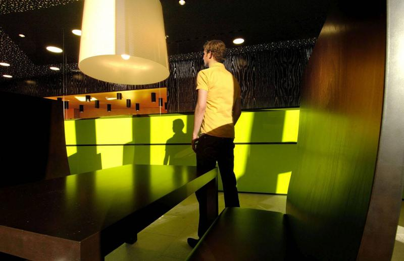 wandelbares restaurant opgen-rhein in oberhausen, innenarchitektur, Innenarchitektur ideen