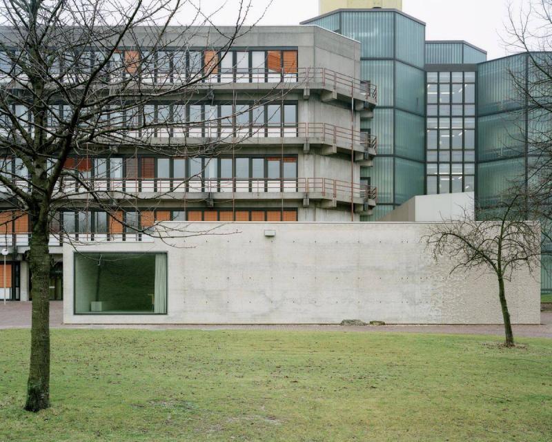 H rsaal physik rwth aachen in aachen architektur for Architektur aachen