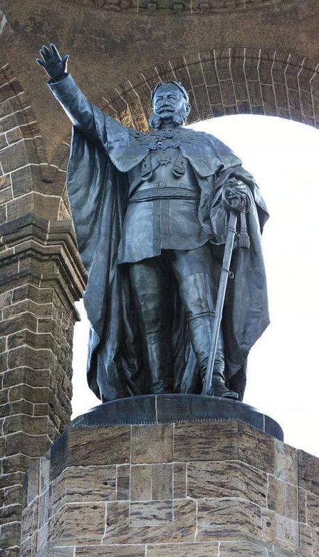 Kaiser Wilhelm Denkmal In Porta Westfalica Architektur