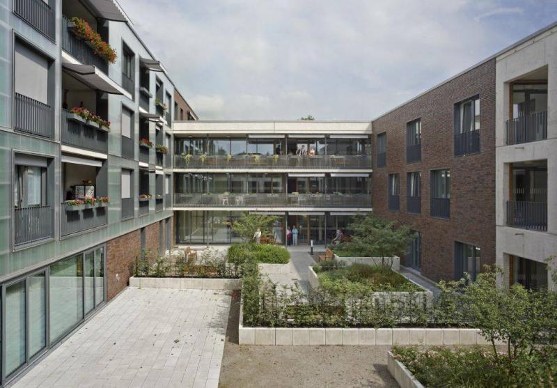 Seniorenwohnen weegerhof in solingen architektur - Fenster solingen ...