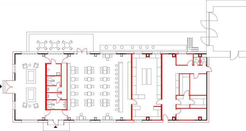 Umbau pumpenhaus bochum besucherzentrum und gastronomie for Gastronomie architektur