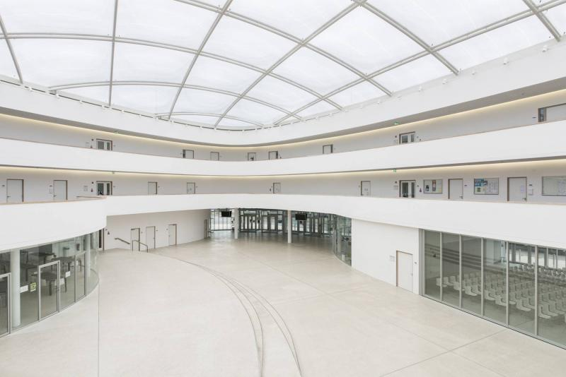 neues gymnasium in bochum in bochum architektur. Black Bedroom Furniture Sets. Home Design Ideas