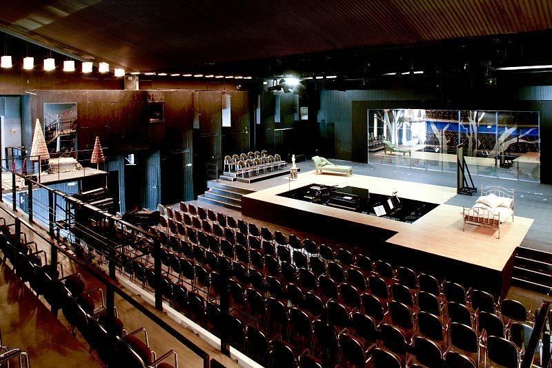 baukunst-nrw - musiktheater im revier (mir) in gelsenkirchen, Innenarchitektur ideen