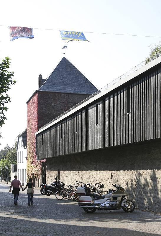meerturm und wehrgang der stadtmauer xanten in xanten, Innenarchitektur ideen