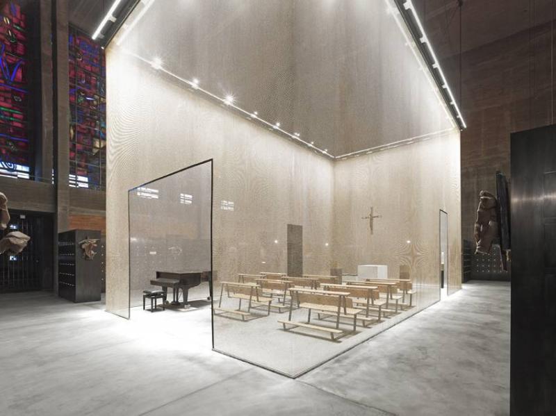 Umgestaltung st bartholom us in ein kolumbarium in k ln for Innenraum design berlin