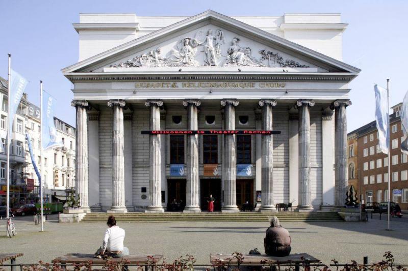 Stadttheater aachen in aachen architektur baukunst nrw for Architektur aachen
