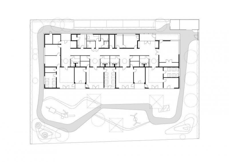 kita und familienzentrum warschauer stra e bonn in bonn architektur baukunst nrw. Black Bedroom Furniture Sets. Home Design Ideas