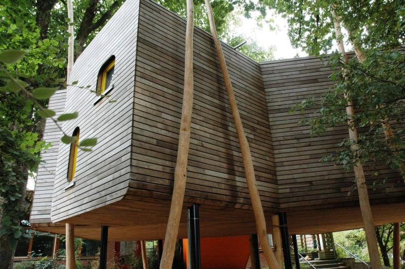baumhaus der kindertageseinrichtung b nde in b nde. Black Bedroom Furniture Sets. Home Design Ideas