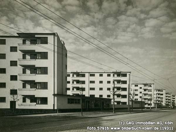 Wei e stadt k ln buchforst in k ln architektur for Architektur 1929