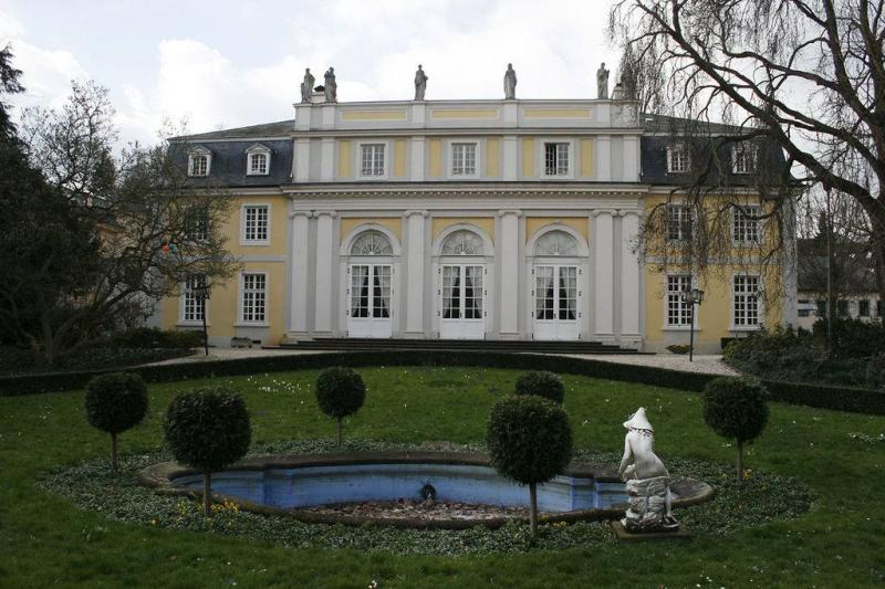 Maritim Bonn Bad Godesberg : Redoute Bad Godesberg in Bonn, Architektur, Architektur  baukunstnrw