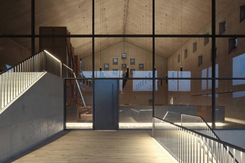heilig geist kirche olpe in olpe, architektur - baukunst-nrw, Innenarchitektur ideen