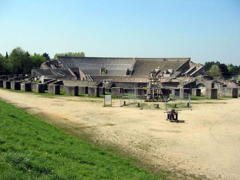 römermuseum xanten in xanten, architektur – baukunst-nrw, Innenarchitektur ideen