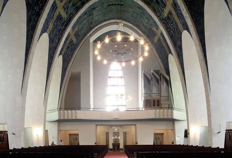 heilig-kreuz-kirche gelsenkirchen in gelsenkirchen, Innenarchitektur ideen