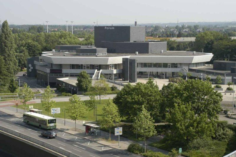 Forum leverkusen in leverkusen innenarchitektur for Innenarchitektur gelsenkirchen