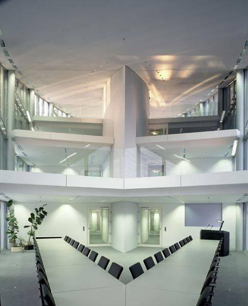 Haus Seeblick Duisburg: Haus Der Wirtschaftsförderung In Duisburg, Architektur