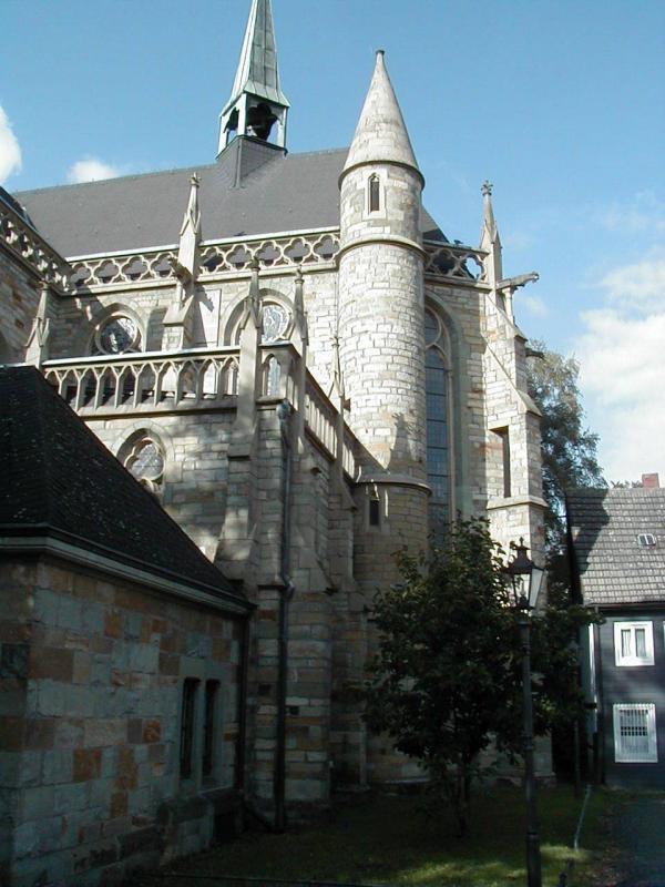 Stiftsruine kleine marienkirche lippstadt lippstadt for Innenarchitektur lippstadt