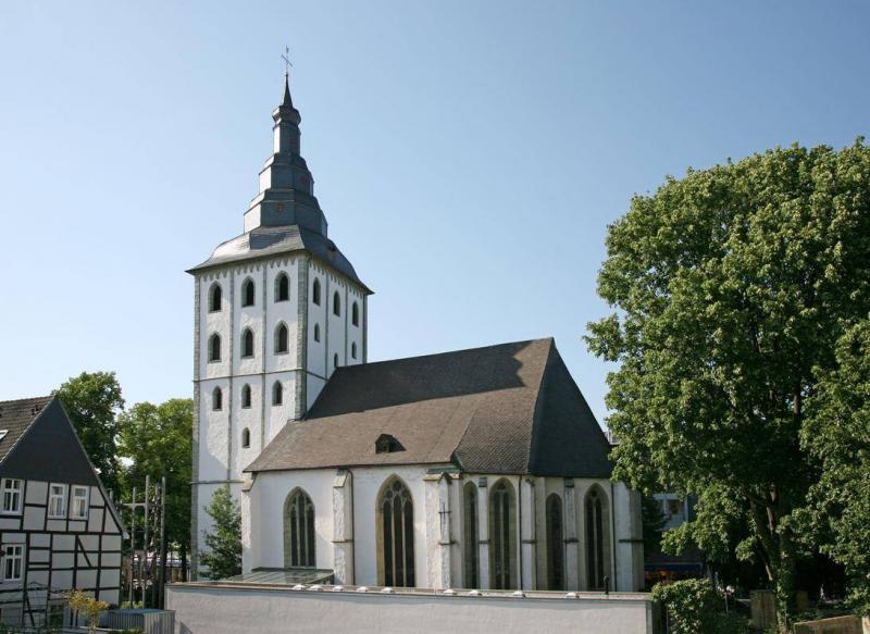 Nicolai kirche lippstadt lippstadt architektur baukunst nrw for Innenarchitektur lippstadt