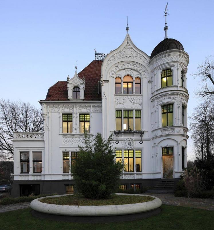 villa dickmann bottrop architektur baukunst nrw. Black Bedroom Furniture Sets. Home Design Ideas