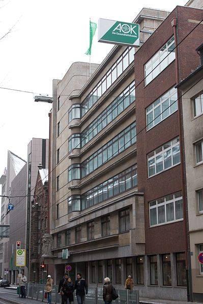 Erweiterungsbau AOK Verwaltung Düsseldorf