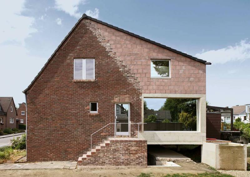 Haus heyden hof herzogenrath architektur baukunst nrw for Innenarchitektur aachen