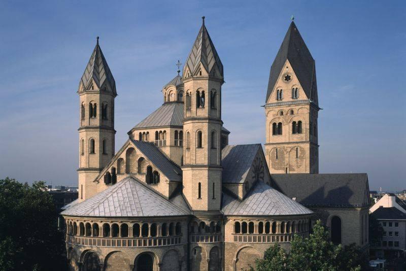 St Aposteln Koln Architektur Baukunst Nrw