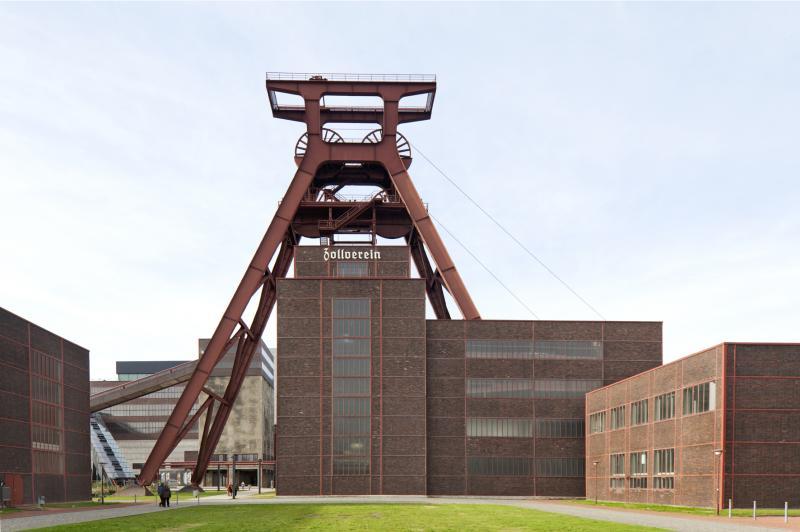 Zeche Zollverein, Schacht 12 und Kohlenwäsche