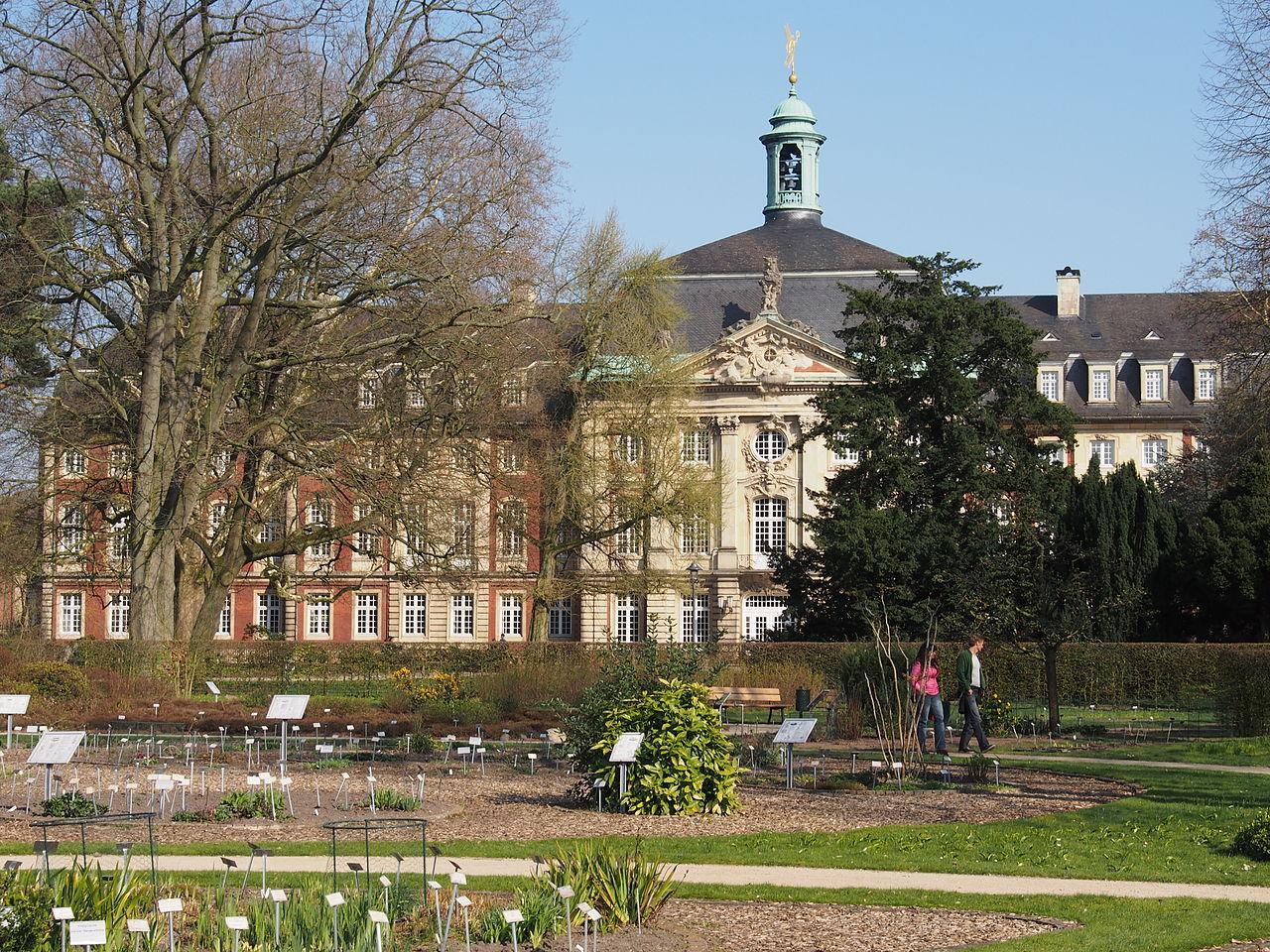 Botanischer Garten Und Schlossgarten In Münster Münster