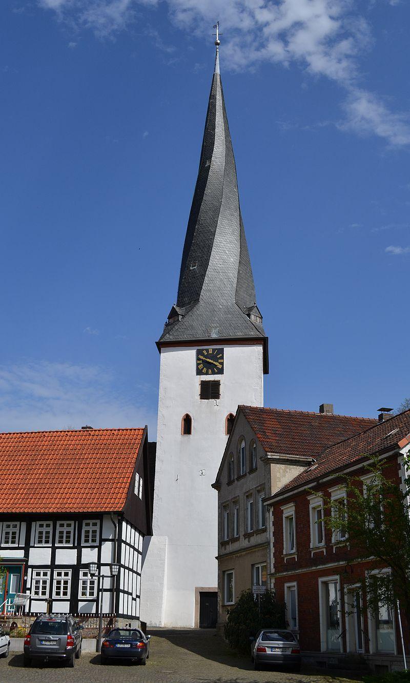Dorfkirche Heiden Lage, Architektur - baukunst-nrw