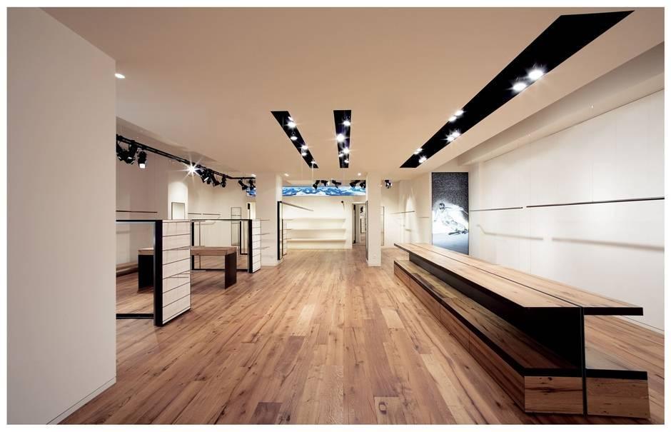 Bogner flagship store d sseldorf innenarchitektur for Innenarchitektur emsdetten