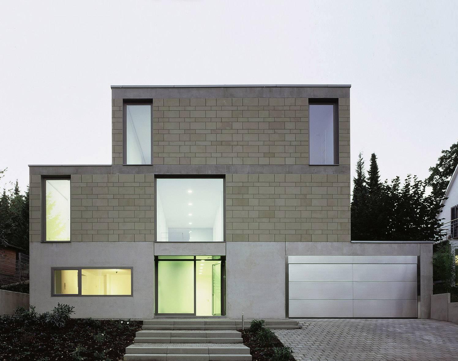 Villa Im Hang Im Melbtal Bonn Architektur