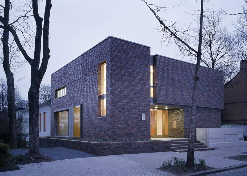 Treppenhaus architektur aussen  Umbau und Erweiterung des evangelischen Gemeindehauses in Duisburg ...