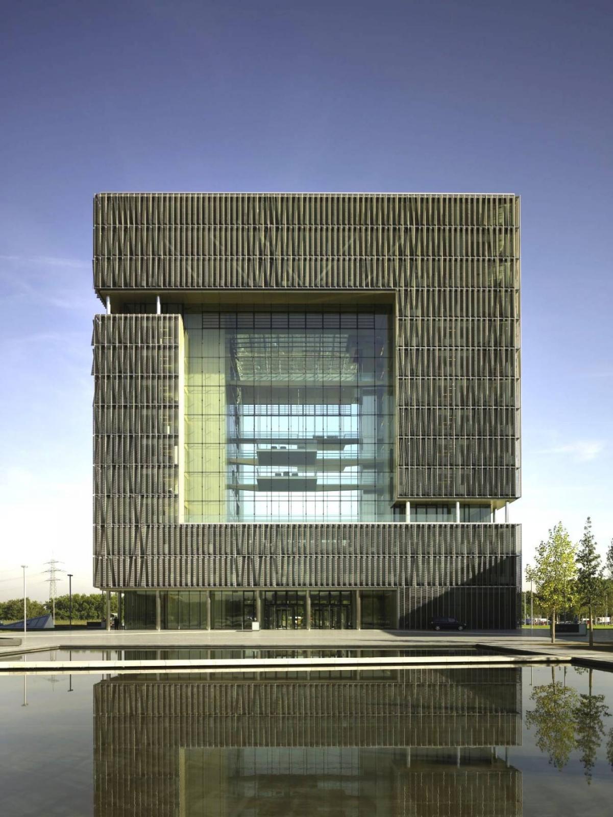 thyssenkrupp headquarter q1 essen architektur baukunst nrw. Black Bedroom Furniture Sets. Home Design Ideas