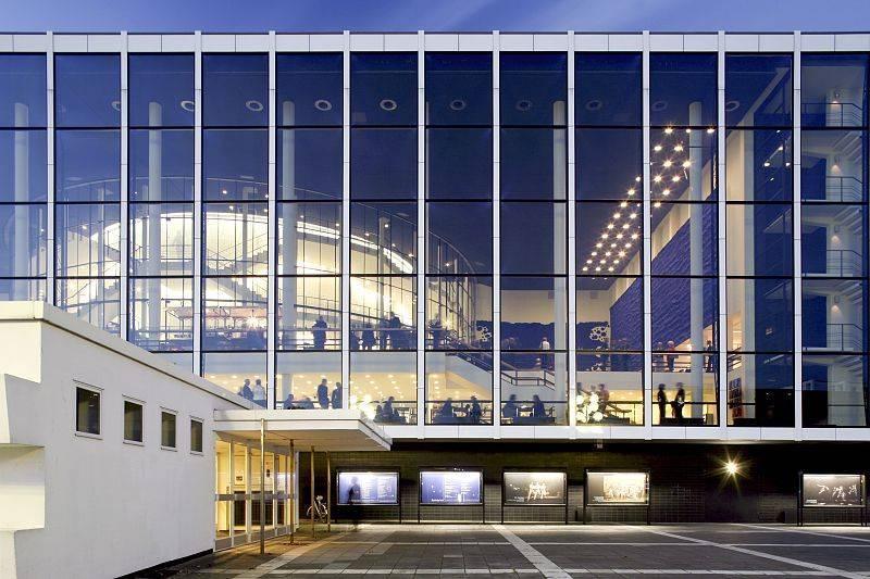 Musiktheater im revier mir gelsenkirchen architektur baukunst nrw - Architekt gelsenkirchen ...