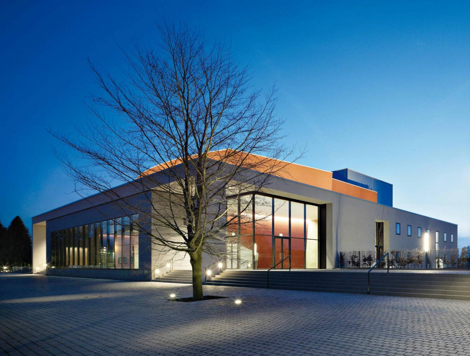 Konzert theater coesfeld coesfeld architektur baukunst nrw - Ernsting architekt ...
