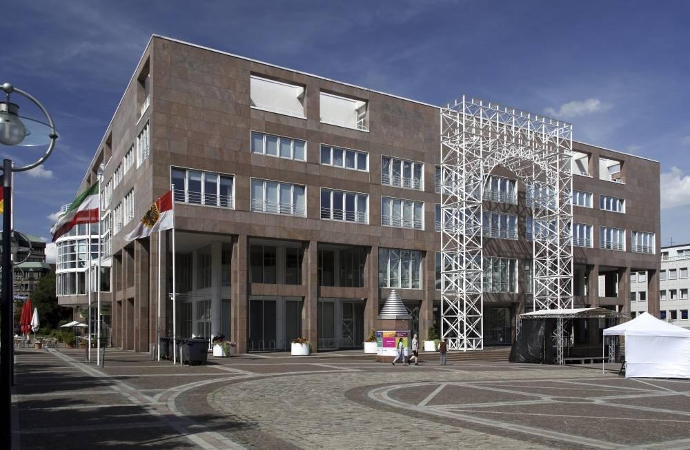Architektur Dortmund neues rathaus dortmund dortmund architektur baukunst nrw