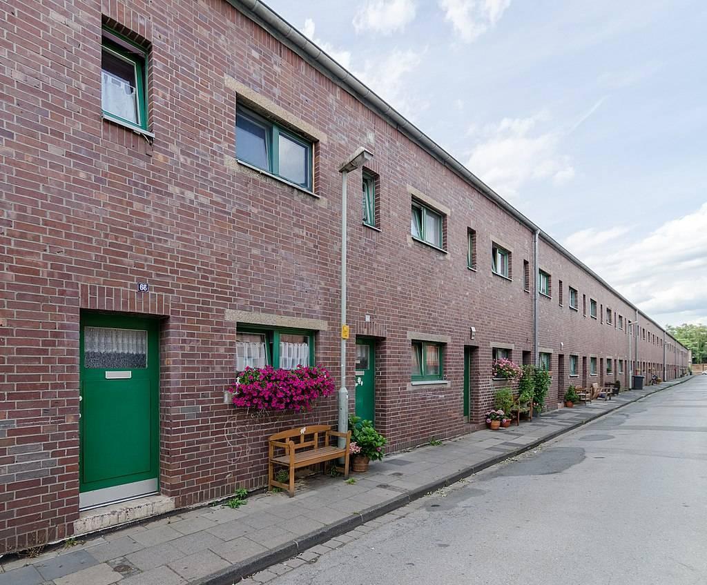 Dickelsbachsiedlung duisburg architektur baukunst nrw - Architekt duisburg ...