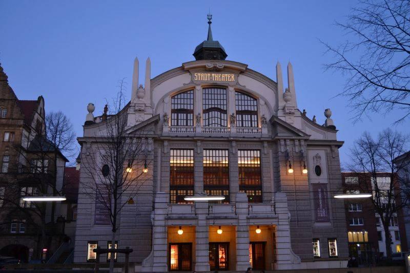 stadttheater bielefeld bielefeld architektur baukunst nrw