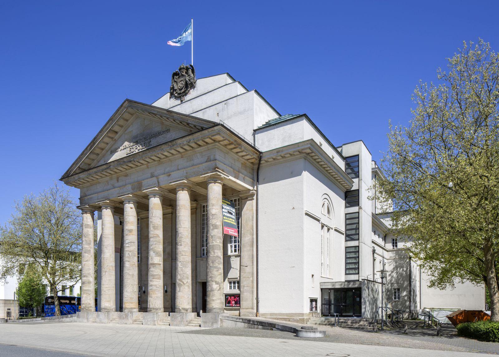 landestheater detmold detmold architektur baukunst nrw